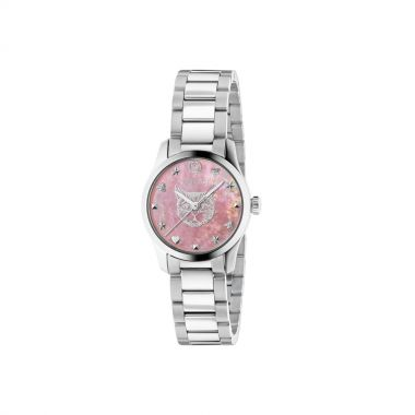 Gucci G-Timeless Ladies Pink Watch 27mm