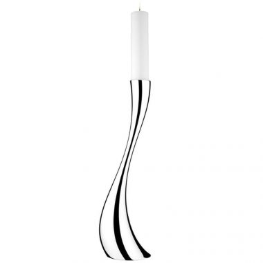 Georg Jensen Cobra Floor Candleholder, Large