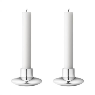 Georg Jensen HK Candleholder 2 Pieces