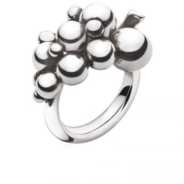 Georg Jensen Moonlight Grapes Ring Small, Sterling Silver