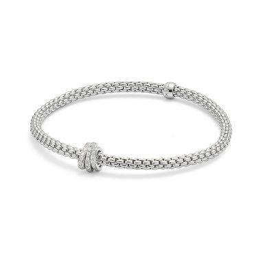 Fope Prima 18ct 0.31ct Diamond Bracelet