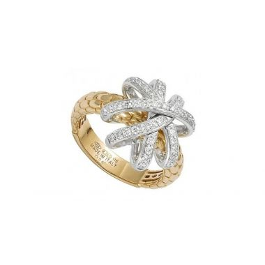 Fope Flex'It 18ct Solo Venezia Diamond Ring