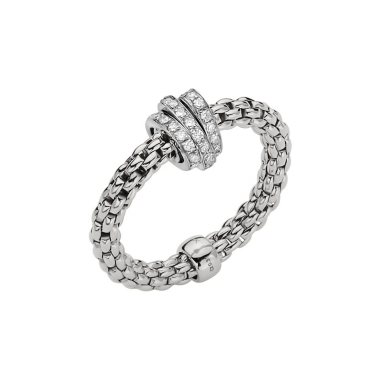Fope Flex'It Prima 18ct Diamond Ring