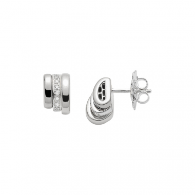 Fope Flex'It Prima 18ct White Earrings