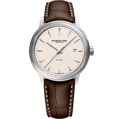 Raymond Weil Maestro Brown Strap 40mm