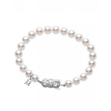 """Mikimoto Pearl Bracelet 5.5mm A 7"""""""
