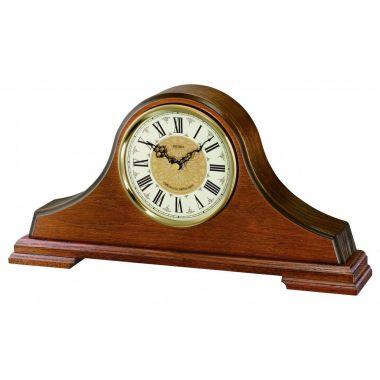 Seiko Wooden Napoleon Chiming Mantle Quartz Clock