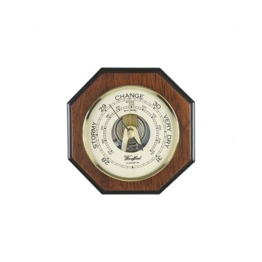 Woodford Small Octagonal Aneroid Barometer