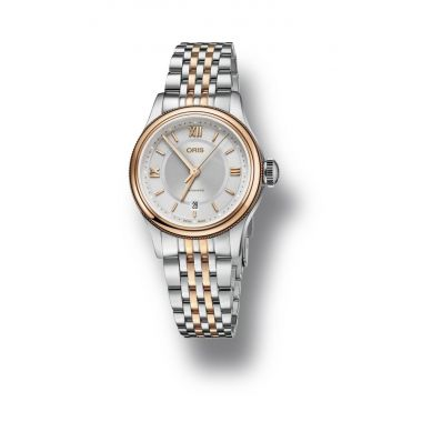 Oris Classic Date Ladies Two-Tone Watch 28.5mm