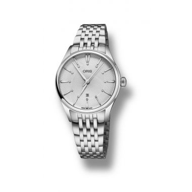 Oris Artelier Date Diamonds Ladies Watch 33mm