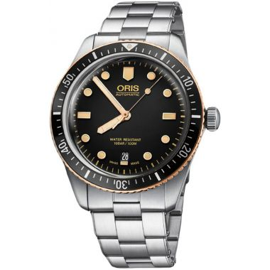 Oris Divers Sixty-Five Bracelet Watch 40mm