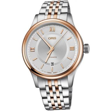 Oris Classic Date Two-Tone Watch 42mm