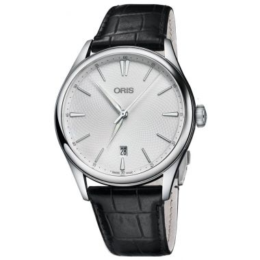 Oris Artelier Date Leather Strap Watch 40mm