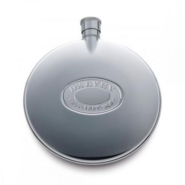 Dalvey Classic Flask Steel Detail