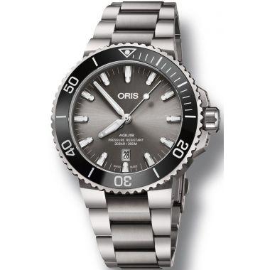 Oris Aquis Titanium Date Watch 43.5mm
