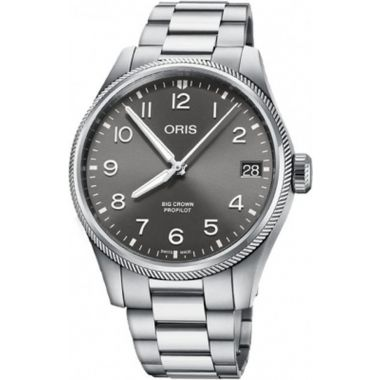 Oris Big Crown Propilot Big Date Grey Watch 41mm