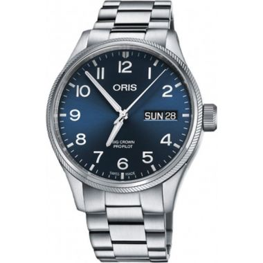 Oris Big Crown Propilot Big Day Date Blue Watch 44mm