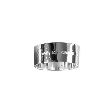 Silver Round Napkin Ring - 1 oz