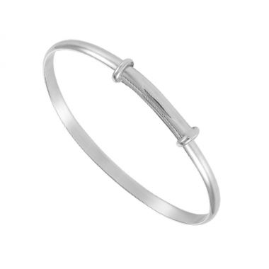 Silver Childs Expanding Bangle