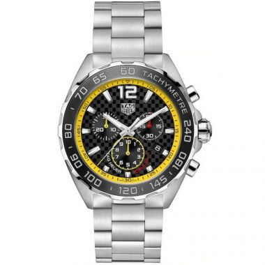 Tag Heuer Formula 1 Yellow & Black Stainless Bracelet 43mm