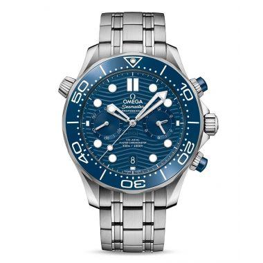 Omega Seamaster Diver 300m Master Chronometer Chronograph Blue 44mm