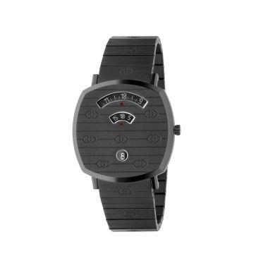 Gucci Grip Black Titanium 38mm