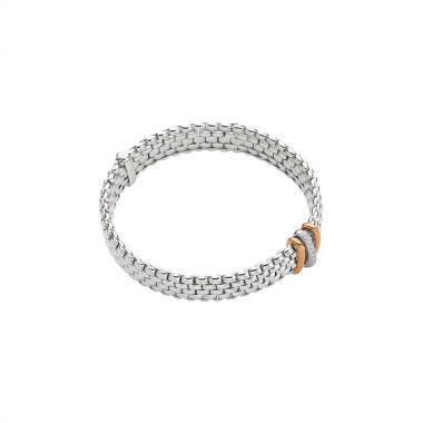 Fope Panorama Flex'It Bracelet with Diamonds