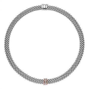 Fope Panorama Necklace with Diamonds