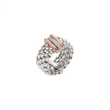 Fope Panorama Flex'It Ring with Diamonds