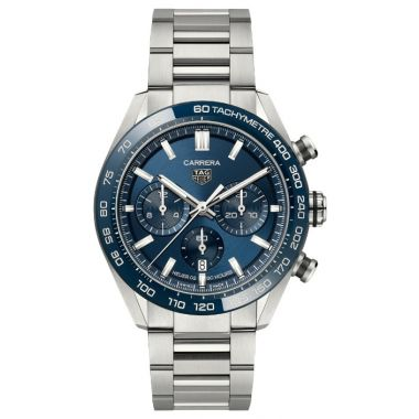 Tag Heuer Carrera Heuer 02 Automatic Chronograph Blue 44mm