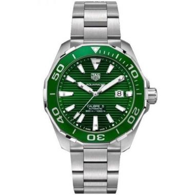 Tag Heuer Aquaracer Calibre 5 Green 43mm WAY201S.BA0927