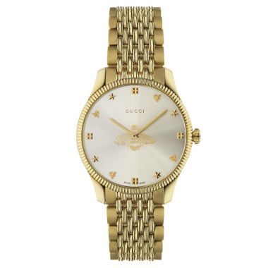 Gucci G-Timeless Bee Motif Gold 36mm