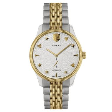 Gucci G-Timeless Two Tone Automatic Watch 40mm
