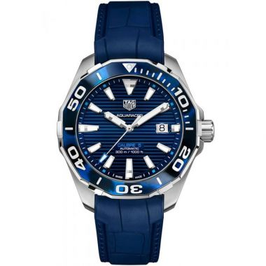 Tag Heuer Aquaracer Calibre 5 Tortoise Shell Blue 43mm