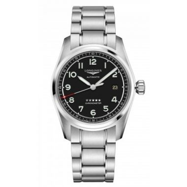 Longines Spirit Automatic Chronometer Black Dial 40mm