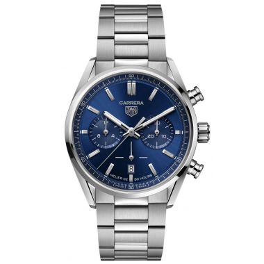 Tag Heuer Carrera Automatic Chronograph Heuer 02 Blue 42mm