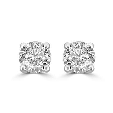 Diamond 2.03ct Stud 18ct Earrings