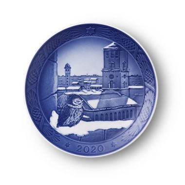 Royal Copenhagen Annual Christmas Plate 2020