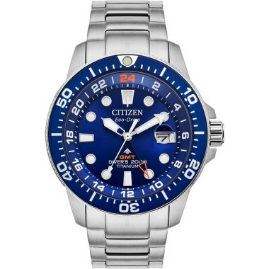 Citizen Eco-Drive Promaster Super Titanium Diver GMT 43mm