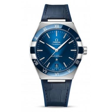 Omega Constellation Co-Axial Master Chronometer Blue Ceramic 41mm