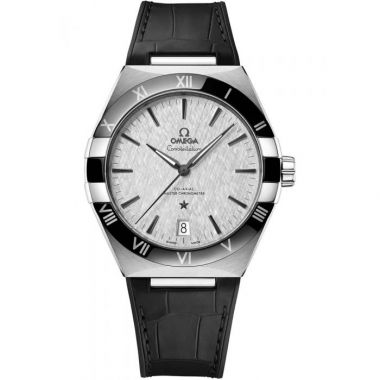 Omega Constellation Co-Axial Master Chronometer Silver Ceramic 41mm