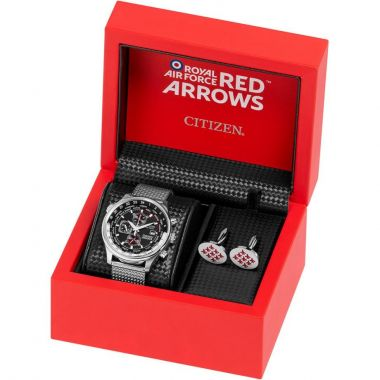 Citizen Eco-Drive Red Arrows Watch & Cufflink Gift Set