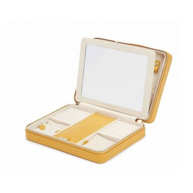 Wolf Maria Large Zip Case - Mustard