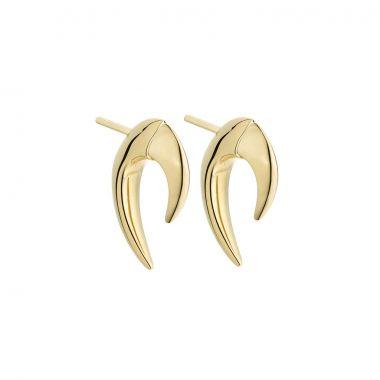 Shaun Leane Yellow Gold Vermeil Mini Talon Earrings