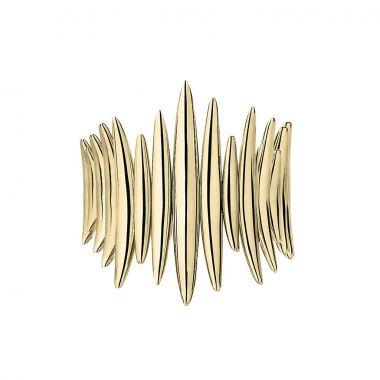 Shaun Leane Yellow Gold Vermeil Quill Wrap Ring