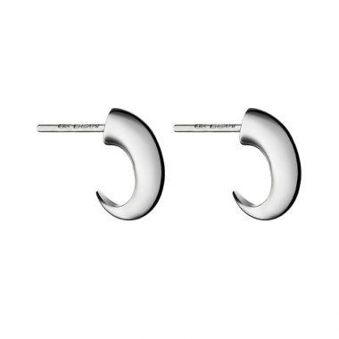 Shaun Leane Silver Cat Claw Hoop Earrings