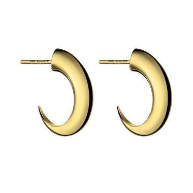 Shaun Leane Yellow Gold Vermeil Cat Claw Medium Hoop Earrings