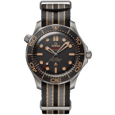 Omega Seamaster Diver 300m Co-Axial Master Chronometer Bond 007 Nato 42mm