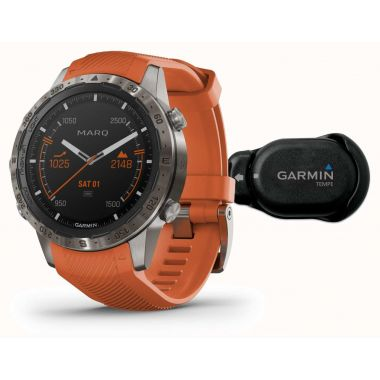Garmin MARQ Adventurer Performance Edition Titanium Sapphire Watch With Tempe Sensor
