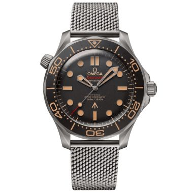 Omega Seamaster Diver 300m Co-Axial Master Chronometer Bond 007 Titanium 42mm